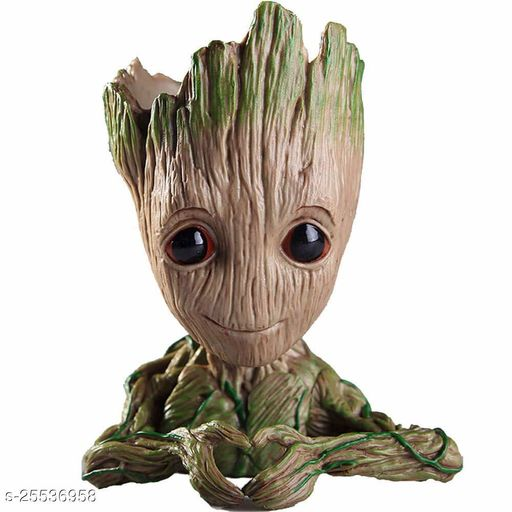 Avengers Groot Gaurdians Of The Galaxy Model 4 Pen Stand