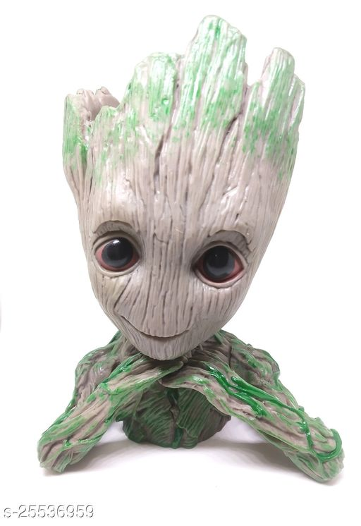 Marvels Groot Gaurdians Of The Galaxy Model 2 Pen Stand