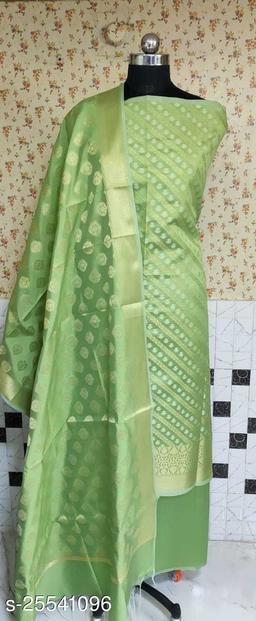 Fabulous Weddings Special Banarsi Silk Suit And Dress Material