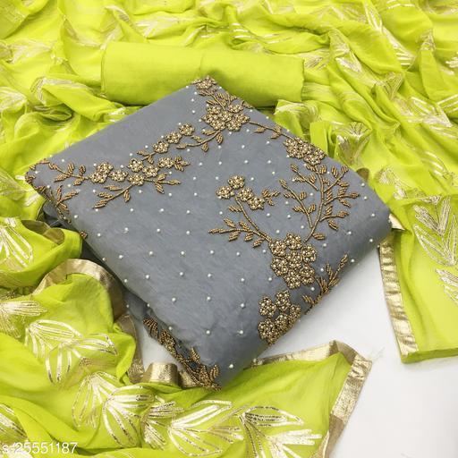 unstitched dress materail