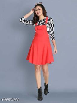 Women Casual Solid Gajri Dress