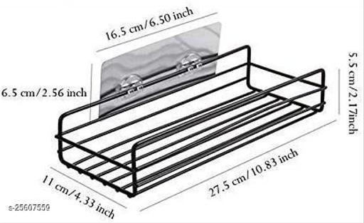 Gopinath Autolink Kitchen Bathroom Shelf Wall Holder Storage Rack shelves