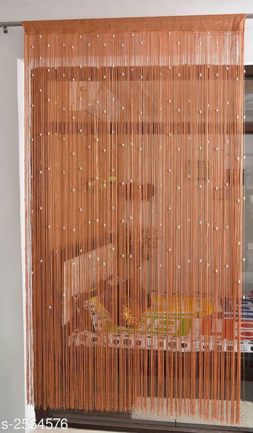 Shaped Polyester String Door Curtain