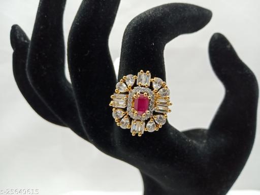 stunning American diamonds AD finger rings for girls and women