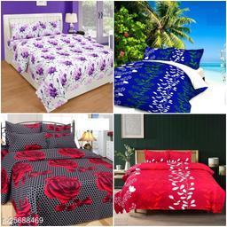 Combo Attractive Bedsheet