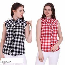 Trendy Women's Cotton Top ( Pack Of 2 )