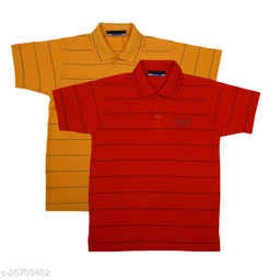 NeuVin Polo Tshirts for Boys (Pack of 2)