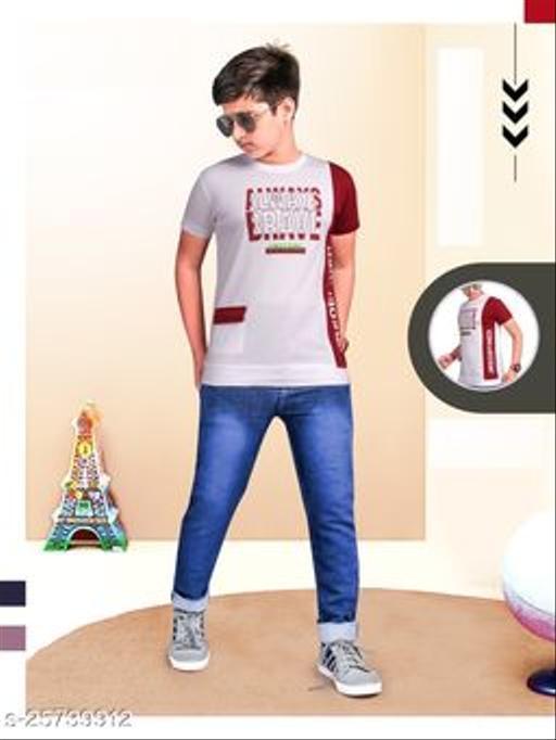 Stylish Tshirt for Smart Boy's
