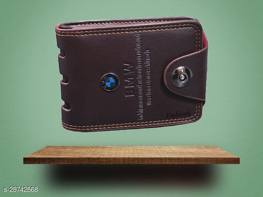Nikline Brown BMW Wallet For Men