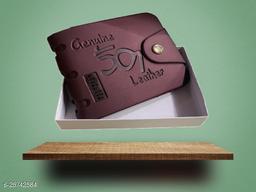 Nikline Brown 501 Wallet For Men