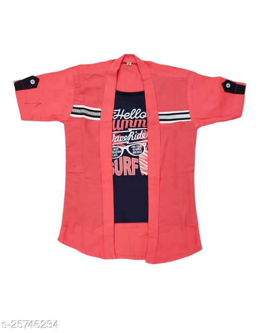 FOREVER YOUNG BOY'S T-Shirt With Attached Jacket