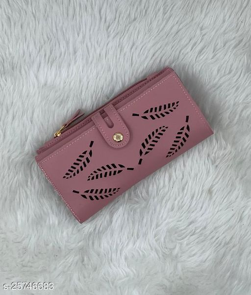 Trendy Women's Multicolor PU Wallet