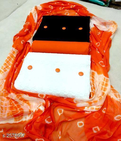 Lucknavi Chikankari Cotton Suits & Dress Material