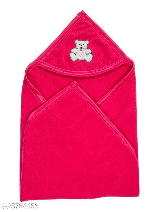 BABYZONE Double Ply Antipilling AC Blanket Cum Wrapper Rani Size 90x79