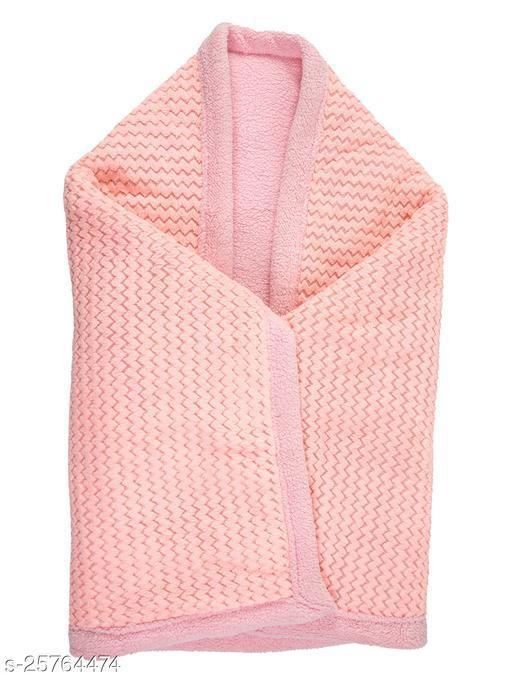 BABYZONE AC Blanket Cum Wrapper Ratchal Ptti  Pink Size 107x81