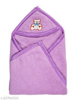 BABYZONE Hooded AC Blanket Cum Wrapper Flenno Bone Move Size 91x76
