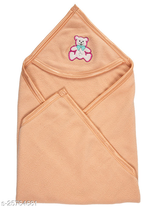BABYZONE Double Ply Antipilling AC Blanket Cum Wrapper Bawa Size 90x79
