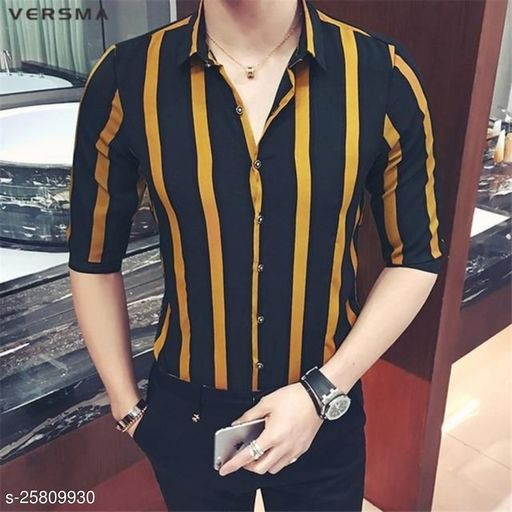 Stylish Men's Printed Shirt (UNSTICHED)
