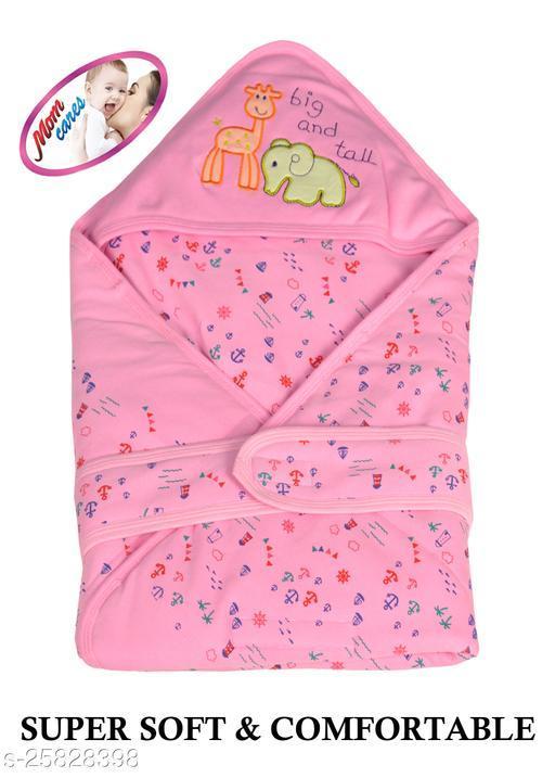 MOM CARES Printed Single Baby Sleep Sack(Pink)