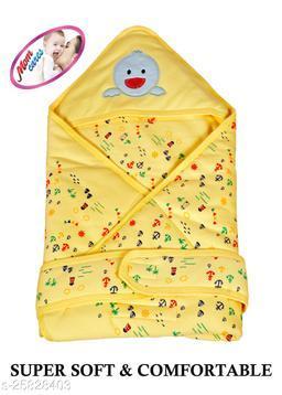 MOM CARES Printed Single Baby Sleep Sack(Yellow)