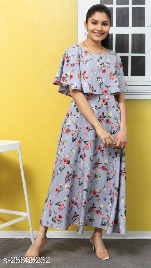 Zakhi Stylist Woman Crape Dress