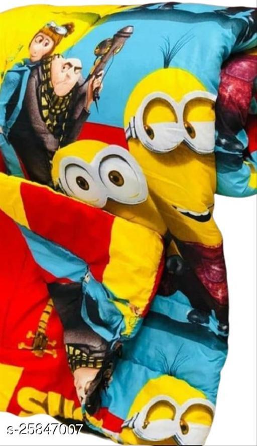 Trendy Unisex Baby Blanket or Quilt (Yellow)