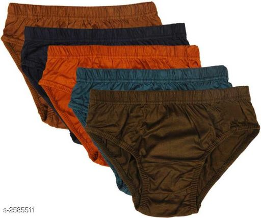 Stylish Comfy Cotton Women's Briefs (Pack Of 5)