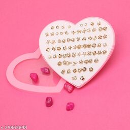 Divine Trendy Plastic Women's Earrings ( 36 Pairs  )