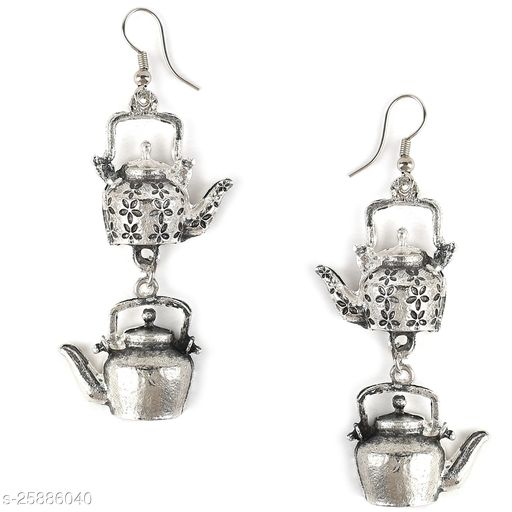 Antique Oxidised Traditional Earrings for Women and Girls