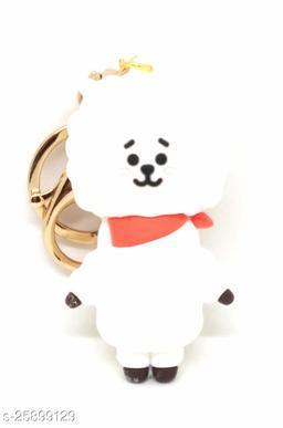 Arkanum Cute RJ BTS BT21 KPop Character Doll Fancy Keychain