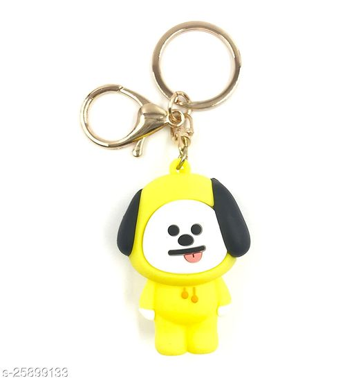 Arkanum Cute Chimmy BTS  BT21 KPop Character Doll Fancy Keychain