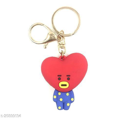 Arkanum Cute Tata BTS  BT21 KPop Character Doll Fancy Keychain