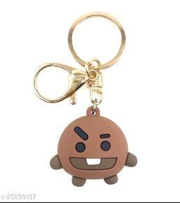 Arkanum Cute Shooky BTS BT21 KPop Character Doll Fancy Keychain