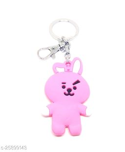 Arkanum BTS Army BT21Cooky Silicone Rubber Heavy Keyring Keychain