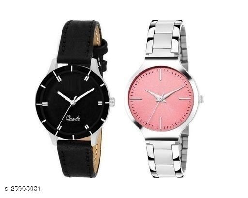 Ladies daily wear Watch combo