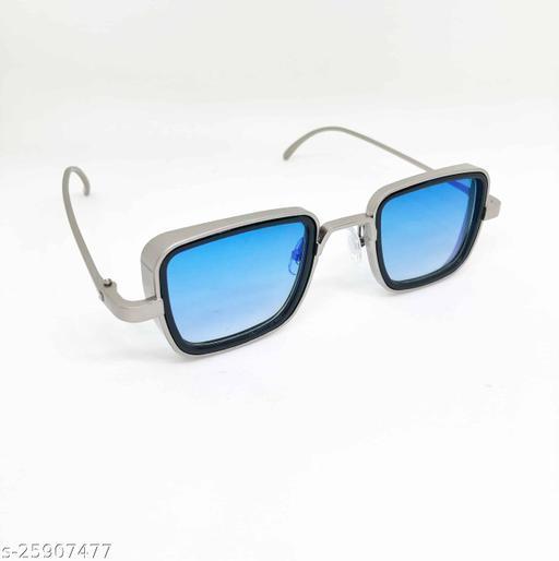 UV Protected  Kabir singh Silver blue Sunglasses