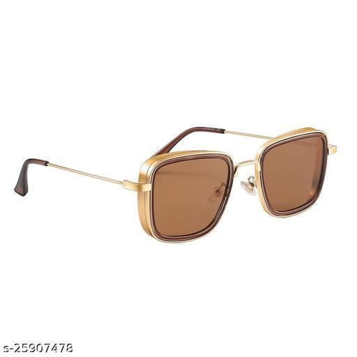 UV Protected  Kabir singh Golden Brown Sunglasses