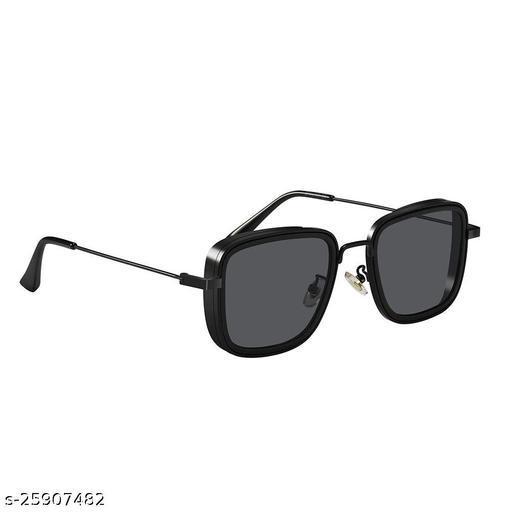 UV Protected  Kabir singh Full Black Sunglasses