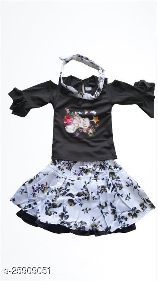 Agile Stylish Kids Girls Skirts