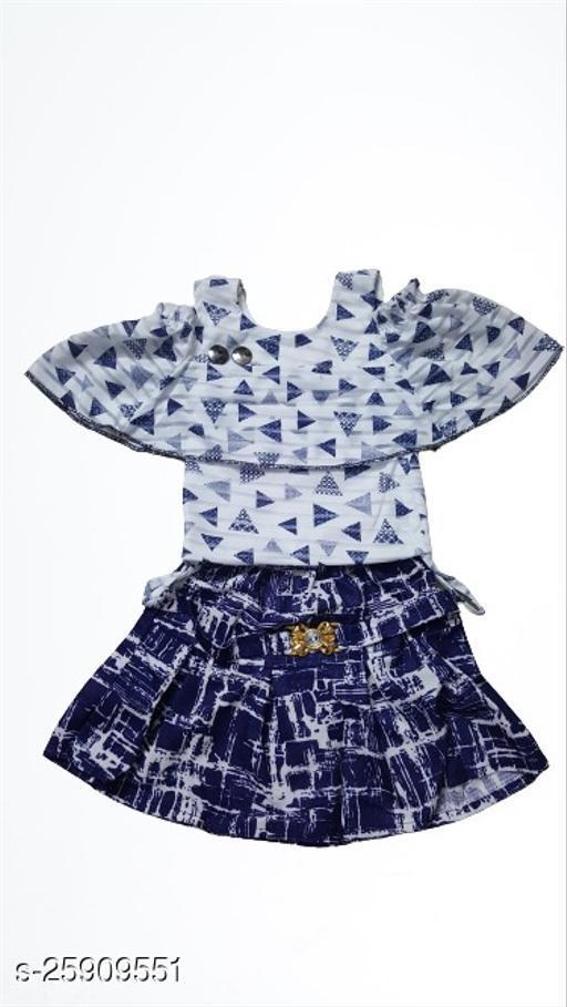 Flawsome Comfy Kids Girls Skirts