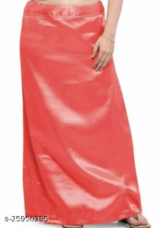 Fancy Satin petticoat with cotton lining