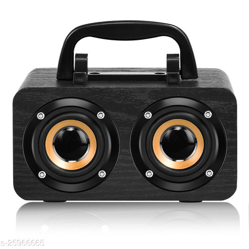 Walrus Boombox Wireless Speaker With Upto 10-Hour Playing Time, Fm Radio, Built-In Mic, Handsfree Call, Aux Line, Usb Flash Drive, Micro Sd Card, Hd Stereo Sound And Bass