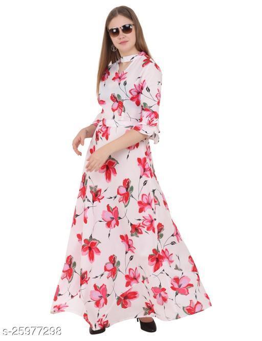 Stylish Choker Gown