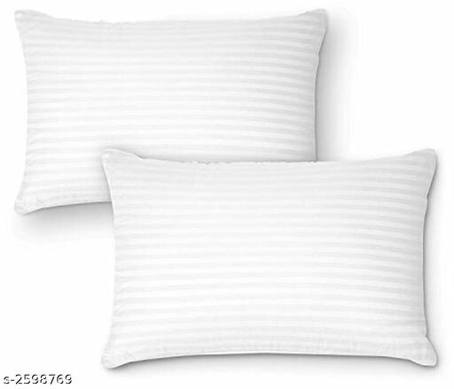 SleepEzy Polyester Pillow Combo  ( Pack Of 2)