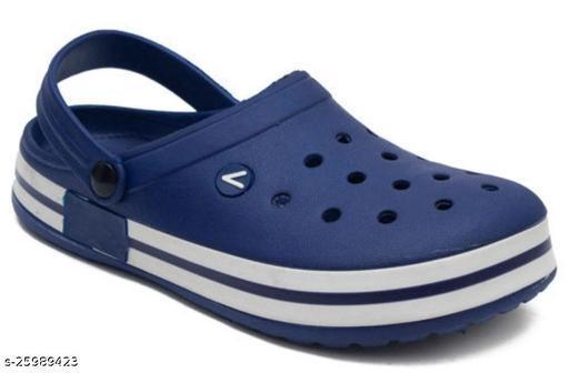 Stylish Men's Blue Clogs