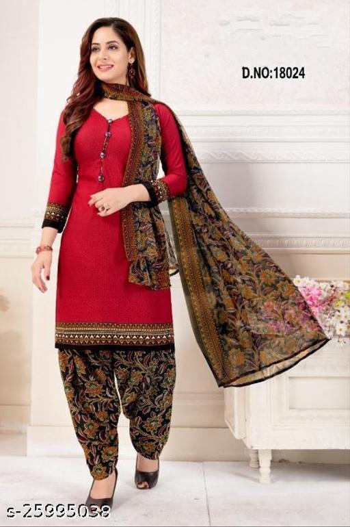 Anny Deziner Cotton Printed Salwar Suit Material