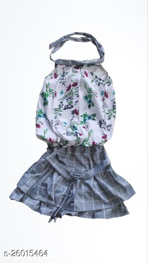 Flawsome Classy Kids Girls Skirts