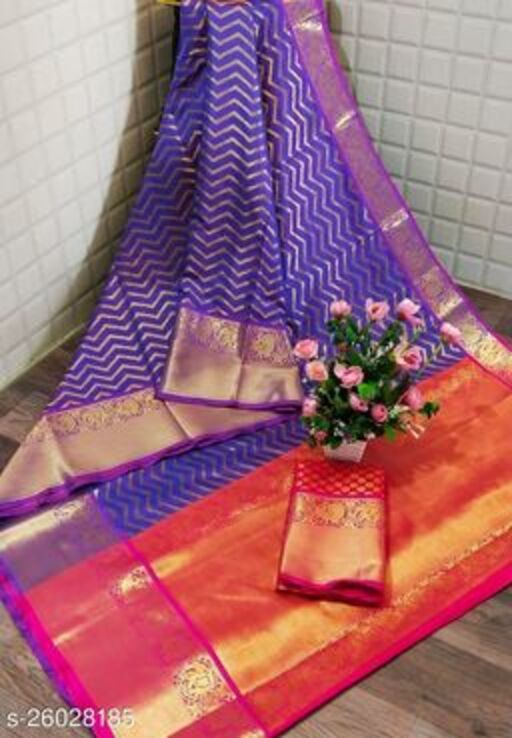 Beautiful trendy silk saree