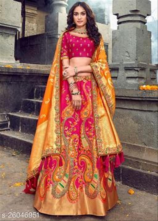 Trendy Fabulous Net Lehenga