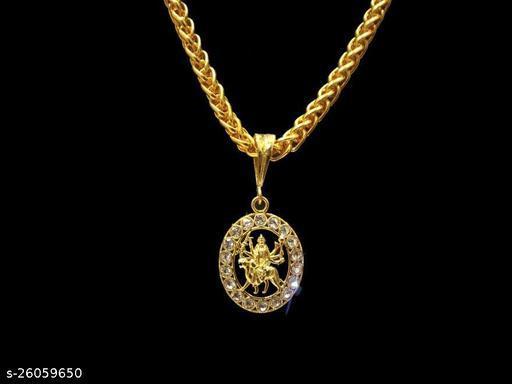 Ma Sheravali Round Diamond & JAYPURI chain - 09